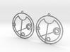 Olive - Earrings - Series 1 3d printed