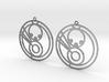 Mila - Earrings - Series 1 3d printed