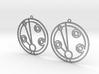 Madeleine - Earrings - Series 1 3d printed