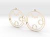 Clara / Klara - Earrings - Series 1 3d printed
