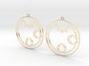 Clara / Klara - Earrings - Series 1 3d printed