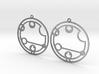 Caitlyn / Kaitlyn - Earrings - Series 1 3d printed