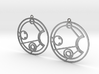 Jessica - Earrings - Series 1 3d printed