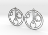 Holly - Earrings - Series 1 3d printed