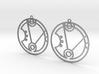 Heather - Earrings - Series 1 3d printed