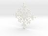 Mermaid Snowflake 3d printed
