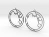 Andrea - Earrings - Series 1 3d printed