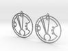 Freya - Earrings - Series 1 3d printed