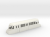 "009 bogie ""Flying Banana"" railcar with luggage com 3d printed"