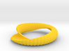 Curvilinear Shell Bracelet 3d printed