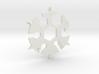 Snowflake Multi Tool 3d printed