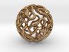 Gyroid Sphere Pendant 3d printed