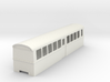 "009 bogie ""Flying Banana"" railcar centre car 3d printed"