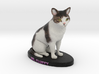 Custom Cat Figurine - Mr. Fluffy 3d printed