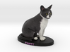 Custom Cat Figurine - Panty 3d printed
