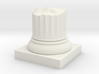 Pillar Broken Stump Original Lrg 3d printed