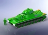 Sovjet T-100 Heavy Tank 1/285 6mm 3d printed Add a caption...