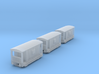 T-gauge 3 Guardvans  - Custom Wheels, see descript 3d printed