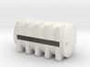 1/64 S scale 6025 gal. Horizontal Leg Tank 3d printed