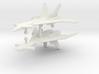 1/285 Mikoyan MiG-31 (Firefox) (x2) 3d printed