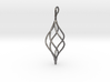 Helical Basket Pendant 3d printed