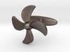 Propeller Cufflink 3d printed