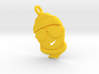 'Winter Sun' Yellow Plastic Winter Sun Pendant 3d printed