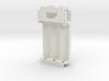 """Eliminator"" 1590B Mech Mod Insert w/voltage meter 3d printed"