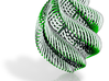 Green Shell Ornament 3d printed