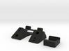 IRIS+ REAR DOOR Components 3d printed