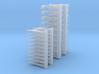 1/24 scale Roof Hook / Pike pole head set (20 each 3d printed