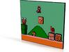 Mario Plaque 3d printed