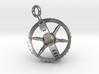 Compass Gyroscope Pendant 3d printed