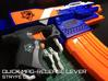 Quick Mag-release (Nerf Stryfe)  3d printed