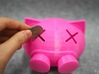 Funny piggy bank 3d printed