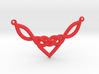 Celtic Heart Knot Pendant 3d printed