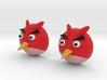 Angry Birds Earrings 3d printed