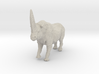 Elasmotherium Color 3d printed Rhinoceros by ©2012 RareBreed