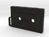 Cassette shape Keyring Key fob (Large) 3d printed