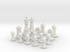 Half Chess Set 3d printed
