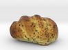 The Black Sesame Bread 3d printed