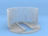 YT1300 HSBRO CABIN WALLS LONG  3d printed