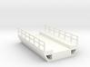 N Modern Concrete Bridge Deck Single Track 60mm 3d printed