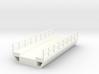 N Scale Modern Concrete Bridge Deck Single Track 8 3d printed