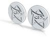 Elder Sign Pin Duo 3d printed