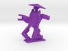 Purple 3d printed