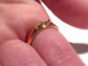 Nailed Wedding Ring - Size 7 3d printed