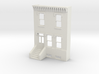 S SCALE ROW HOME FRONT 2S 3d printed