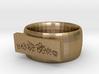Flower  Ring Version 1 3d printed