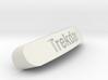 Trekdar Nameplate for SteelSeries Rival 3d printed